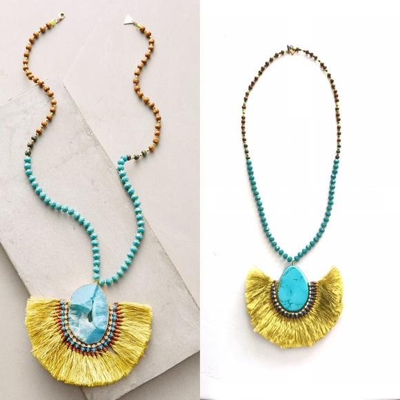 Anthropologie Jewelry - Serefina Wali Pendant Necklace